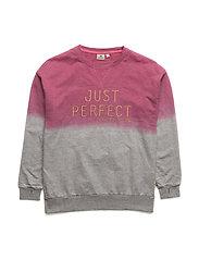 Long sweater Dip dye - PINK