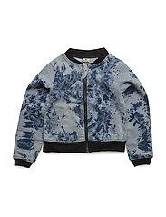 Soft Denim Jacket - BLUE