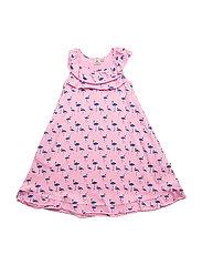 Dress Flamingo Pink - PINK/BLUE