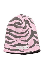 W-Beanie Light Pink - PINK/DARKGREY
