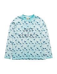 Perfect T Blue LS - TURQOISE/BLUE
