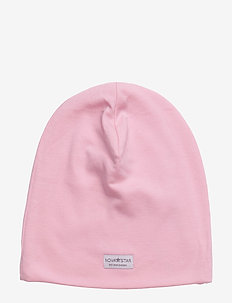 Pink Baby Beanie - hats - pink