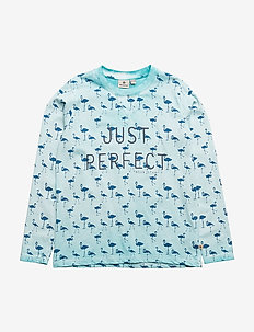 Perfect T Blue LS - TURQOISE/BLUE