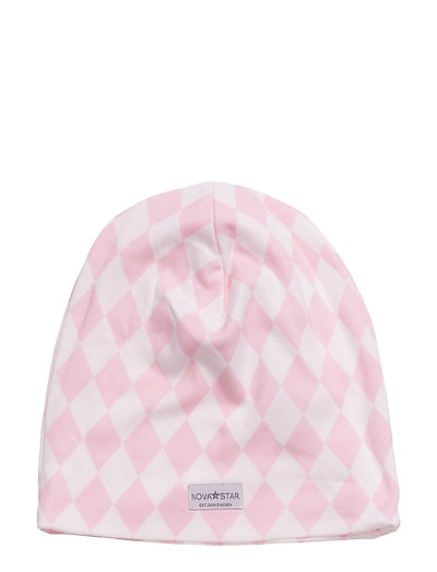 Pink Square Beanie - PINK