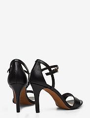 Novita - Chiara - høyhælte sandaler - black - 4