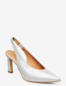Noale - sling backs - white