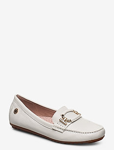 Parma Buckle - loafers - white