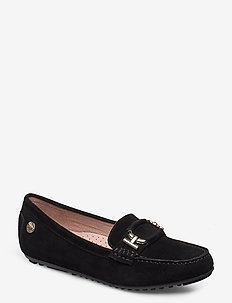 Parma Buckle - loafers - black