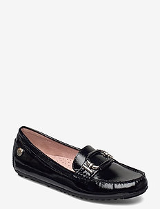 Parma Buckle - instappers - black