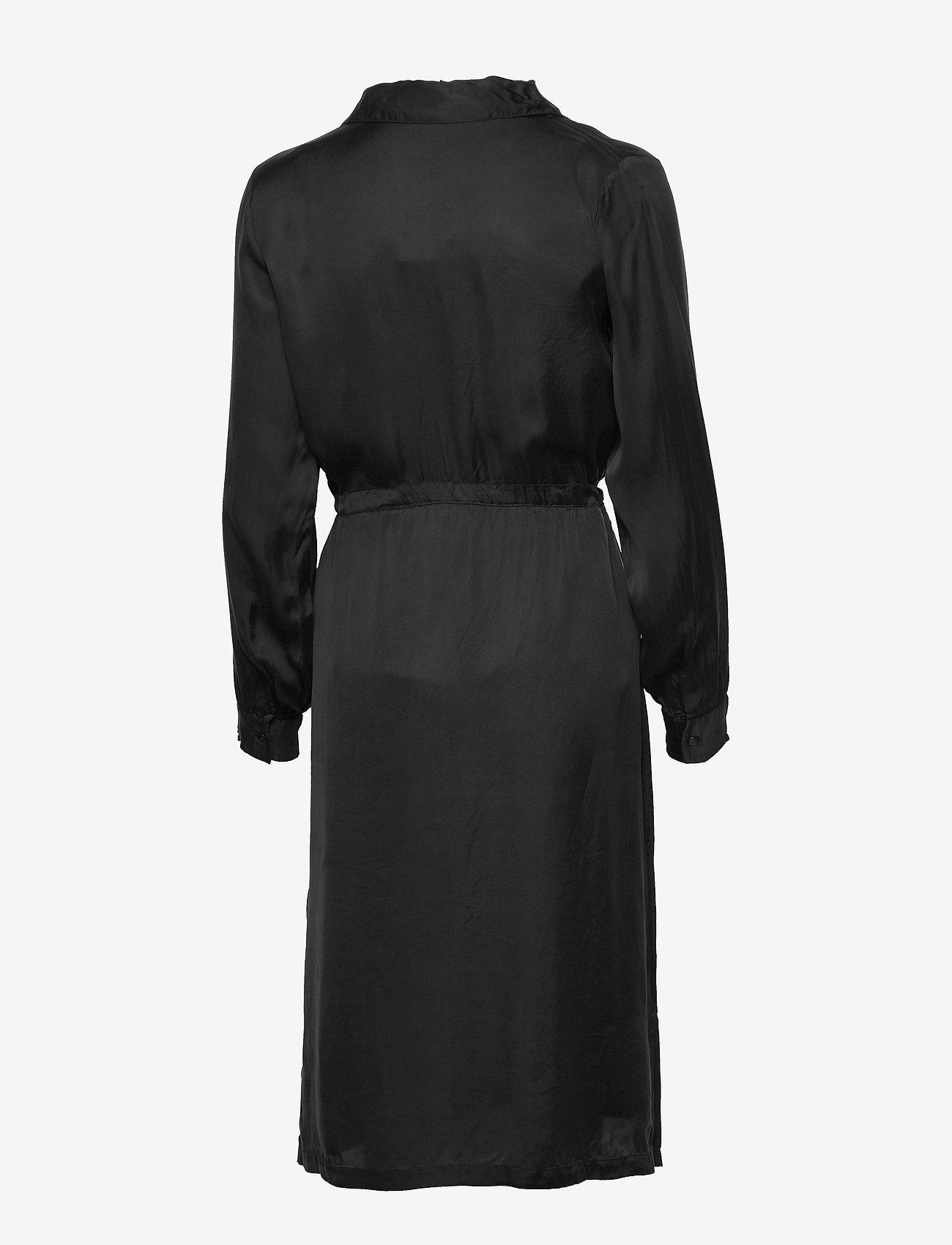 NÜ Denmark - Camira Dress pockets - shirt dresses - black