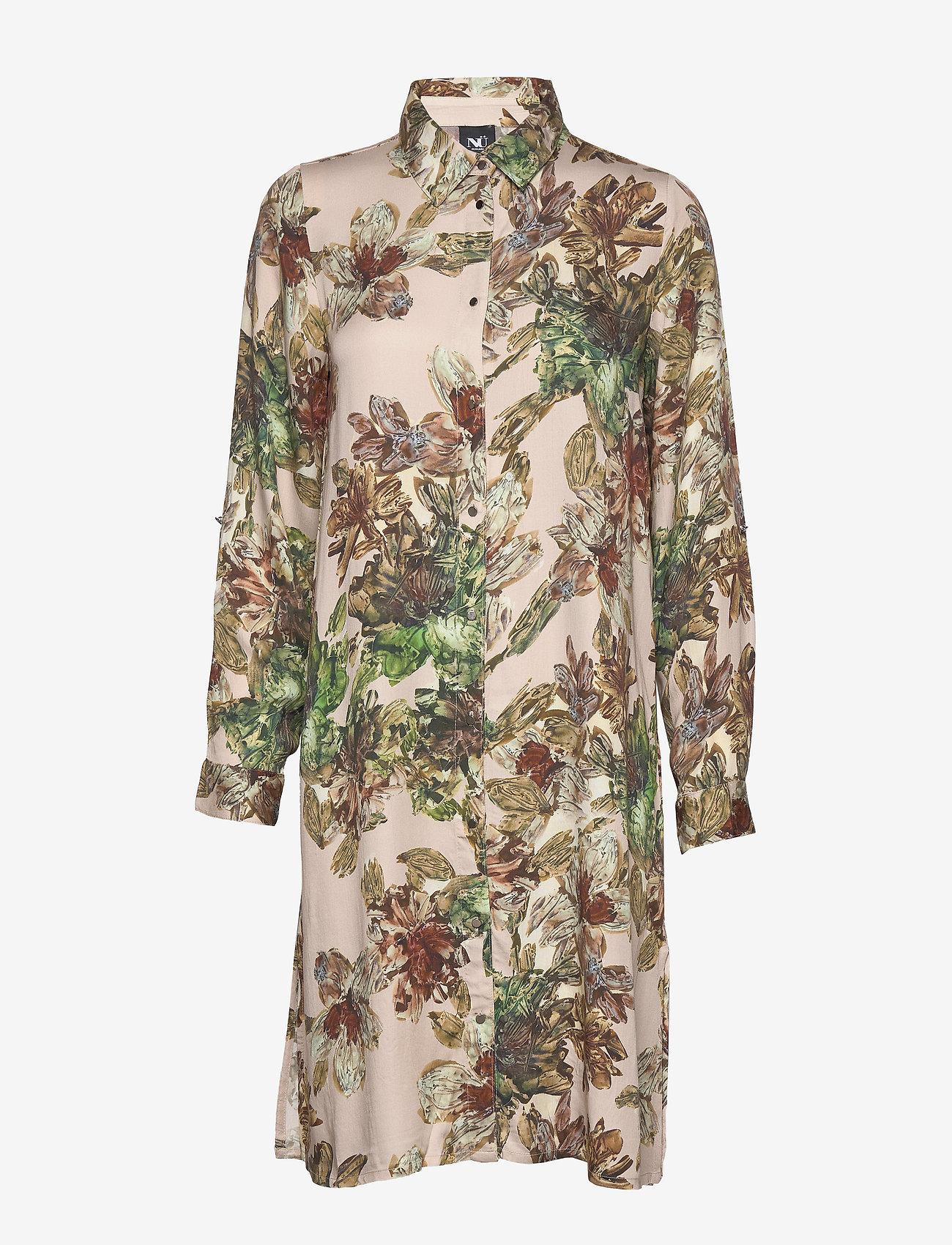 NÜ Denmark - Crista Shirt long - tuniques - seasand mix