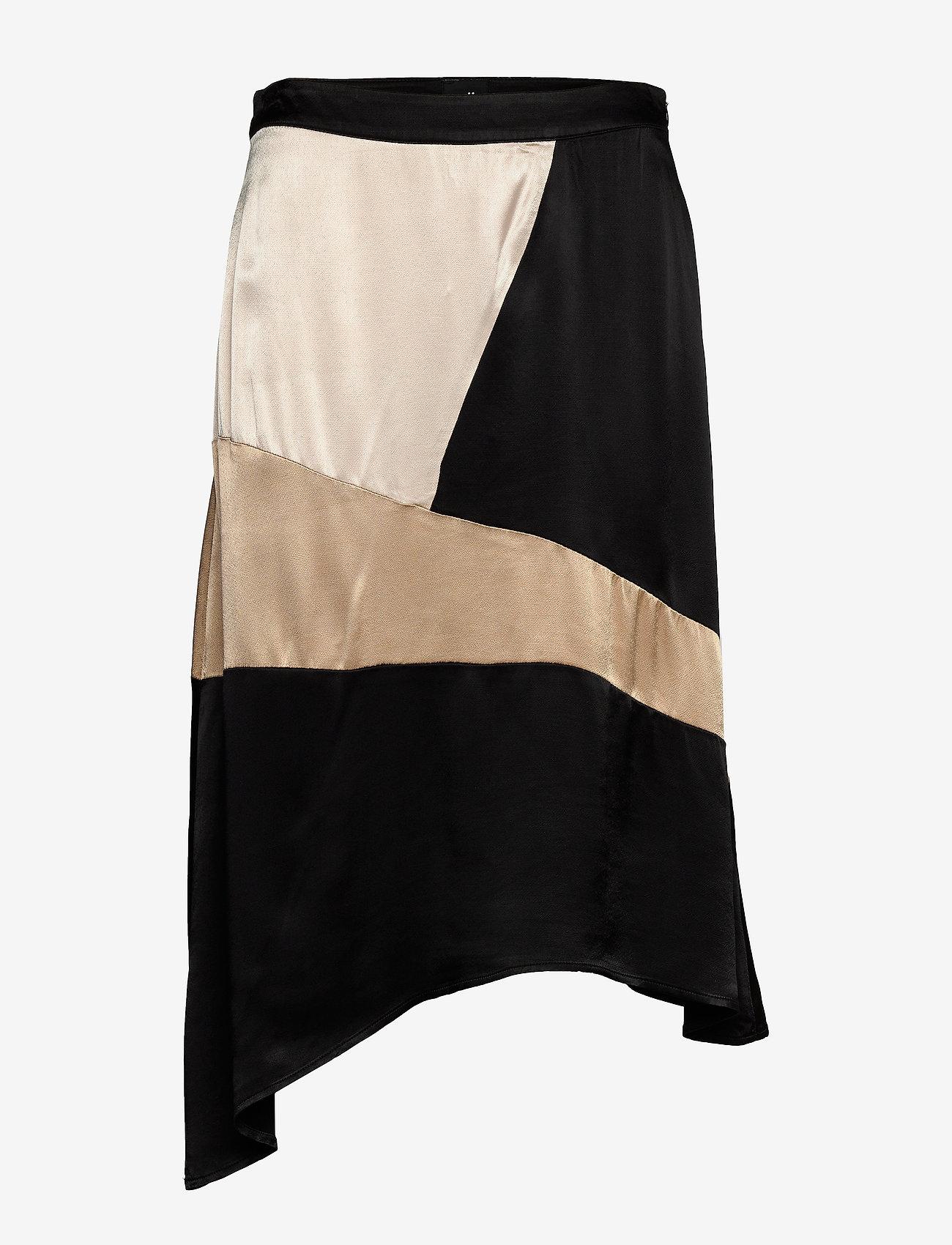 NÜ Denmark - Cadi Skirt - jupes midi - black mix