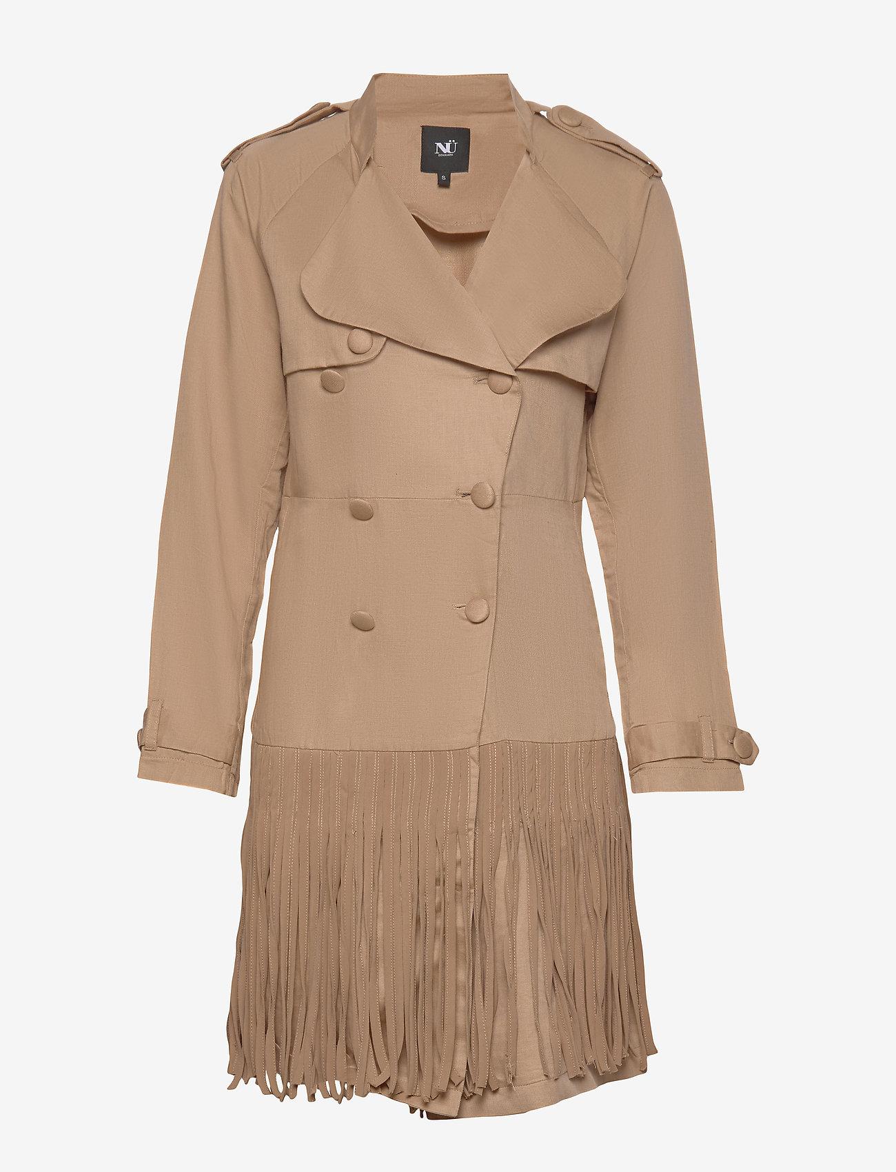 NÜ Denmark - Camas Jacket - trenchcoats - camel