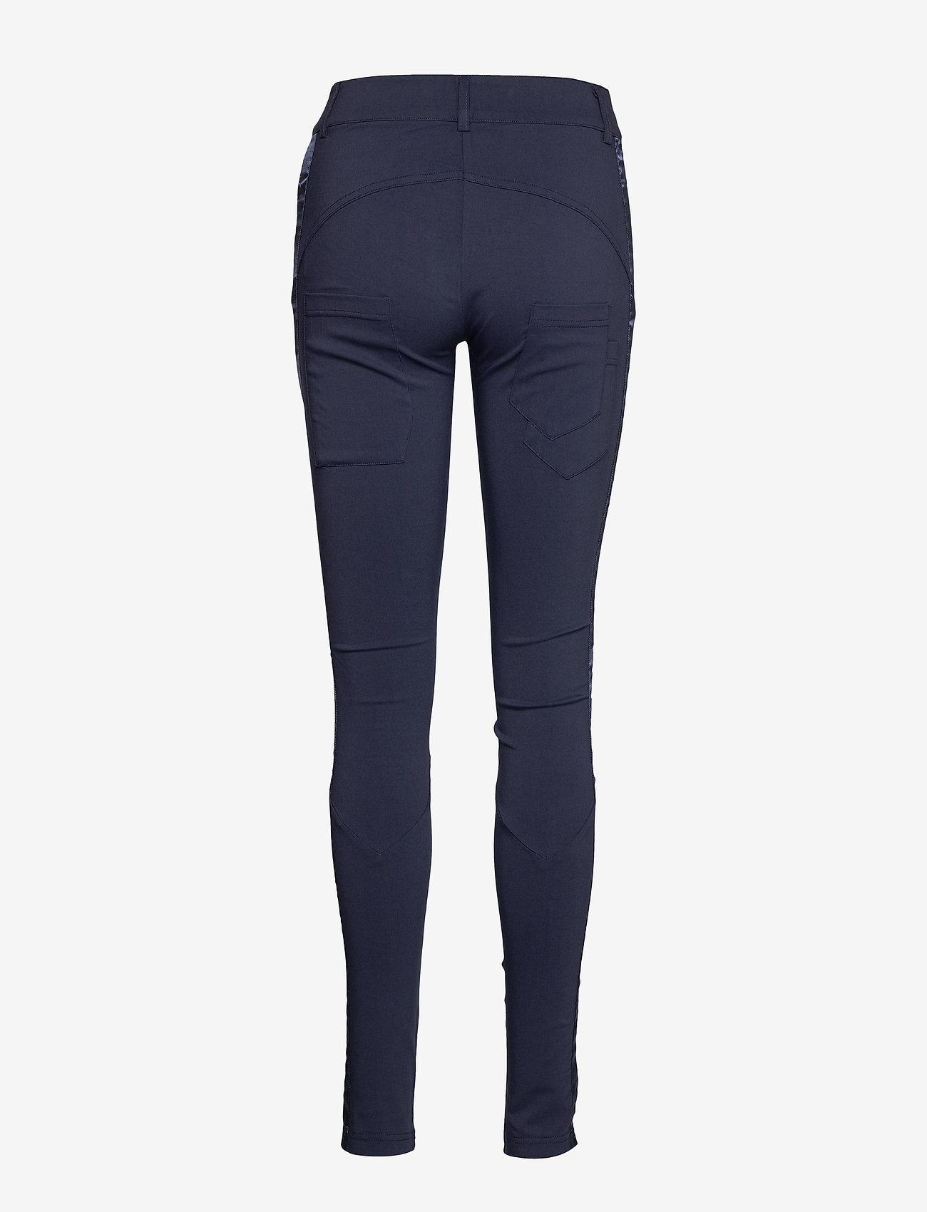 NÜ Denmark - Nola Cue Pants - broeken med skinny fit - ocean blue - 1