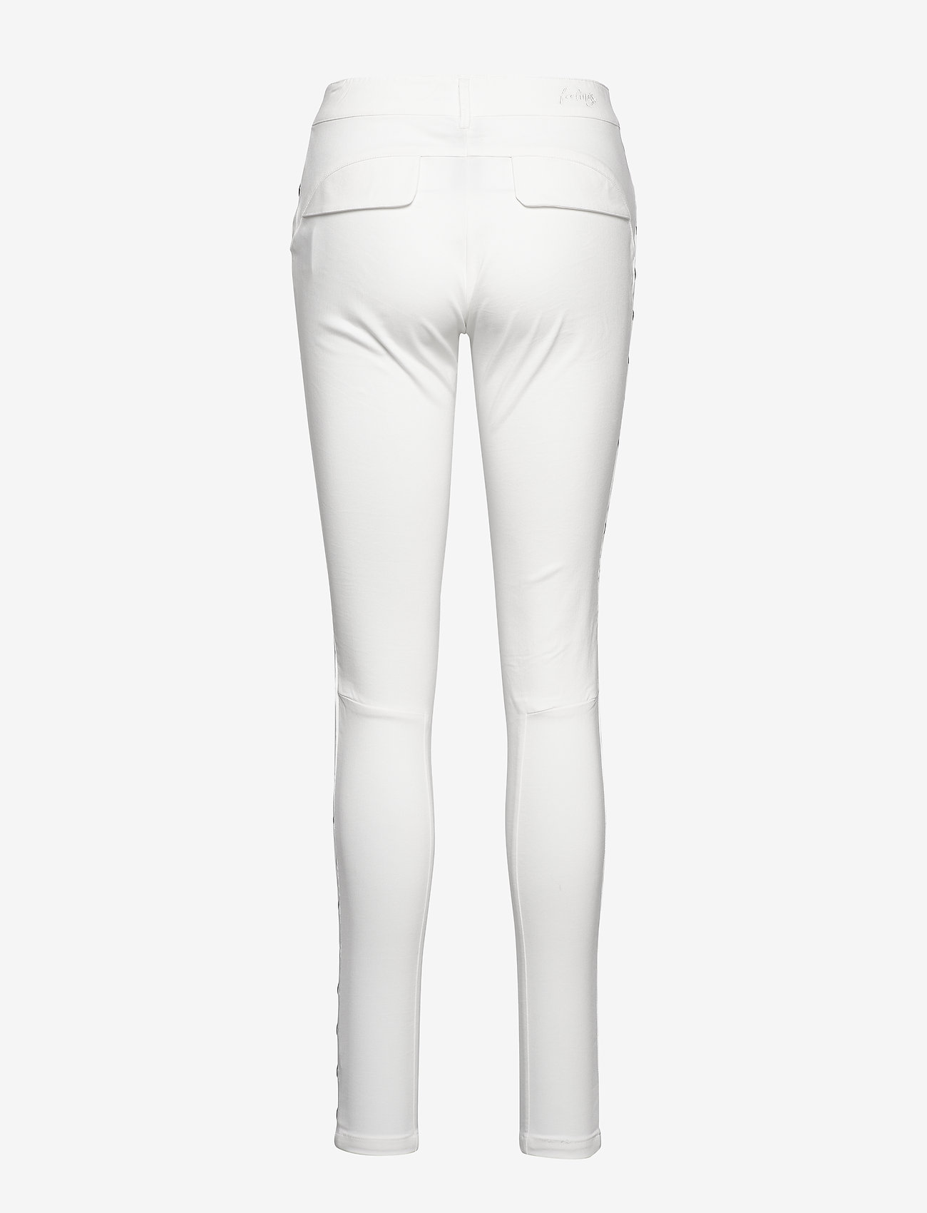 NÜ Denmark - Raix Cue Pants - pantalons casual - creme
