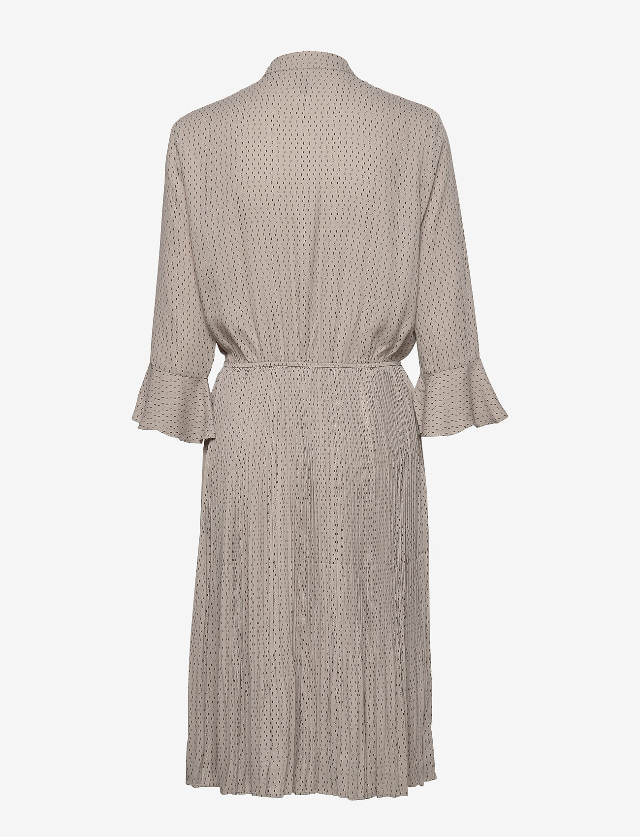 NÜ Denmark - Carrie Dress RECYCLED - robes longeur du midi - grey cigar mix