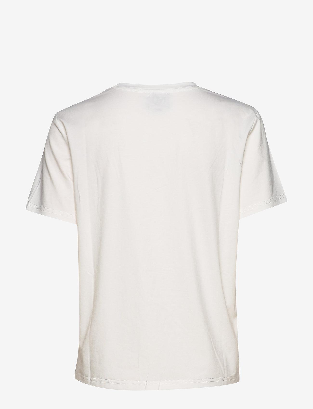 NÜ Denmark - Cabell Tee kind - t-shirts imprimés - burned siena mix