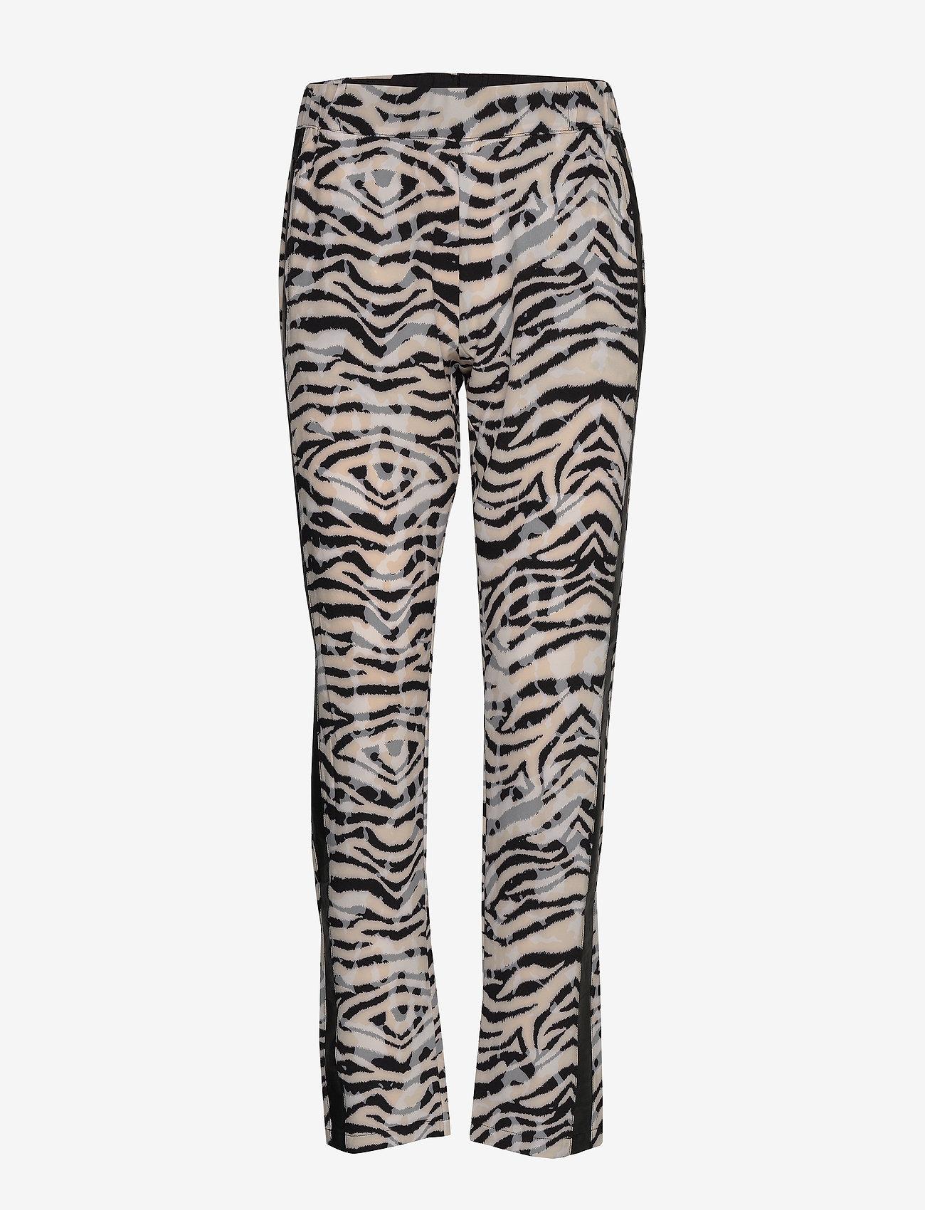 NÜ Denmark - Elina Dana Trousers - pantalons casual - champagne mix