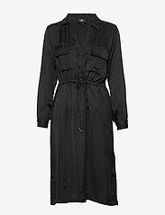NÜ Denmark - Camira Dress pockets - shirt dresses - black - 0