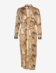 NÜ Denmark - Colby Dress - shirt dresses - camel mix - 3
