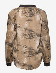 NÜ Denmark - Colby Shirt - blouses à manches longues - camel mix - 1