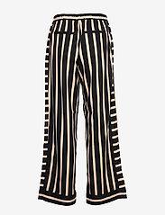 NÜ Denmark - Elina Calli Pants - pantalons larges - black mix - 1