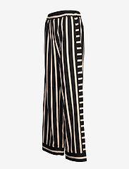 NÜ Denmark - Elina Calli Pants - pantalons larges - black mix - 2