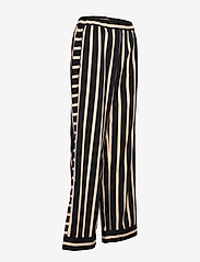 NÜ Denmark - Elina Calli Pants - pantalons larges - black mix - 3