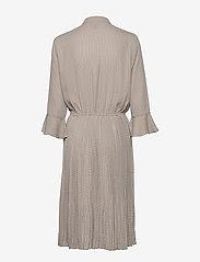 NÜ Denmark - Carrie Dress RECYCLED - robes longeur du midi - grey cigar mix - 1