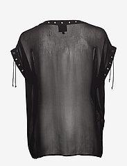 NÜ Denmark - Chica Blouse - blouses à manches courtes - black - 1
