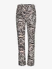 NÜ Denmark - Elina Dana Trousers - pantalons casual - champagne mix - 1