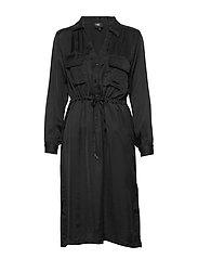 Camira Dress pockets - BLACK