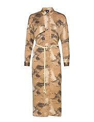 Colby Dress - CAMEL MIX