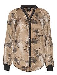 Colby Shirt - CAMEL MIX