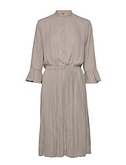 Carrie Dress RECYCLED - GREY CIGAR MIX