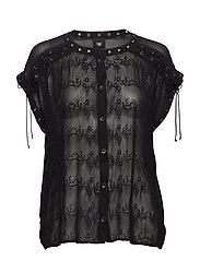Chica Blouse - BLACK