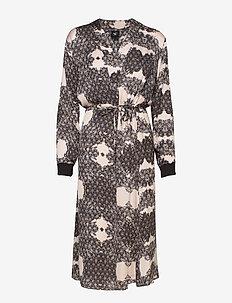 Cara Dress without sequins - wrap dresses - ocean blue mix