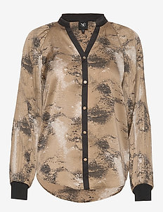 Colby Shirt - CAMEL MIX