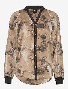 Colby Shirt - bluzki dlugim rekawem - camel mix