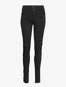 Nola Cue Pants - spodnie rurki - black