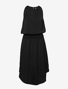 Carson Dress RECYCLED - do kolan & midi sukienki - black