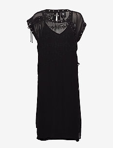 Chica Dress - do kolan & midi sukienki - black