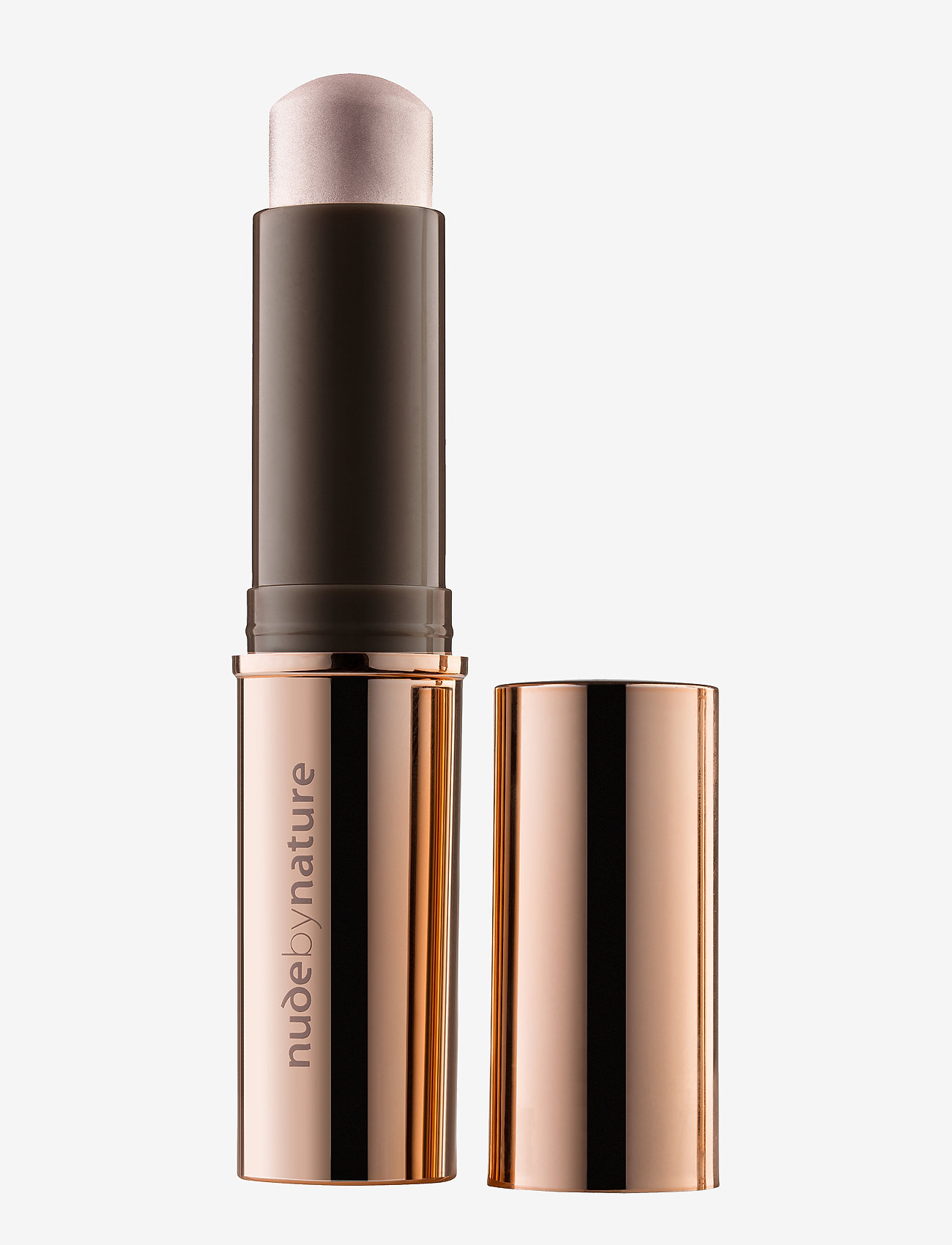 Nude by Nature - COUNTOURING & HIGHLIGHTING 04 OPAL STICK - highlighter - 04 opal stick - 0