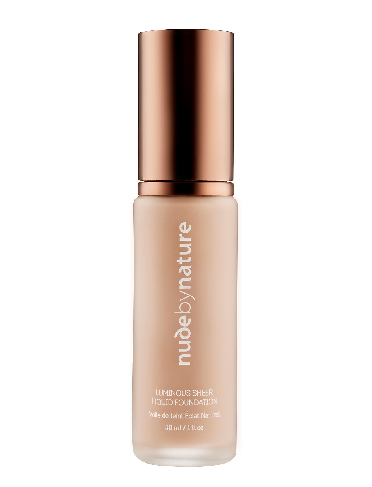 Image of Luminous Sheer Liquid Foundation N2 Warm Nude Foundation Makeup Nude By Nature (3398336927)