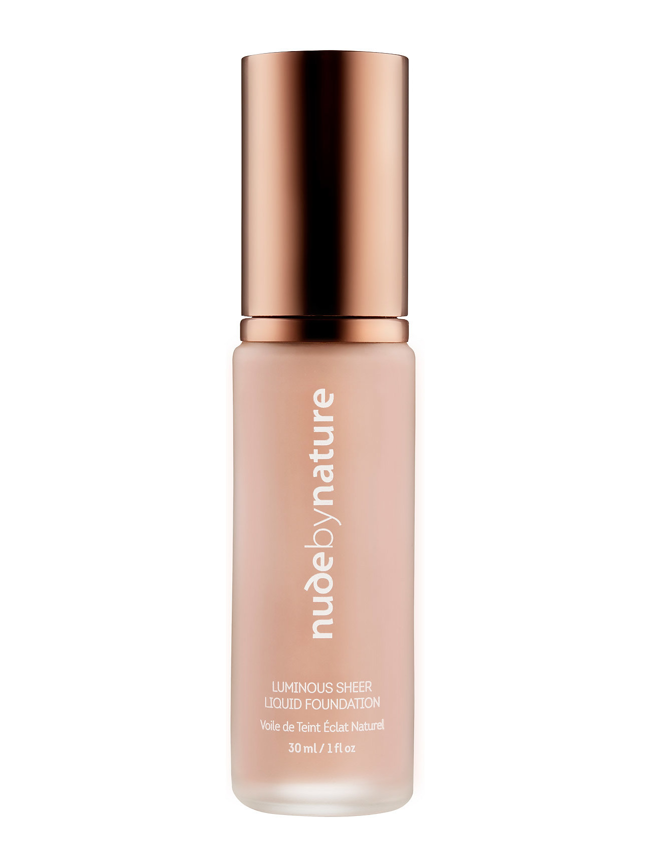 Image of Luminous Sheer Liquid Foundation N2 Warm Nude Foundation Makeup Nude By Nature (3406135473)