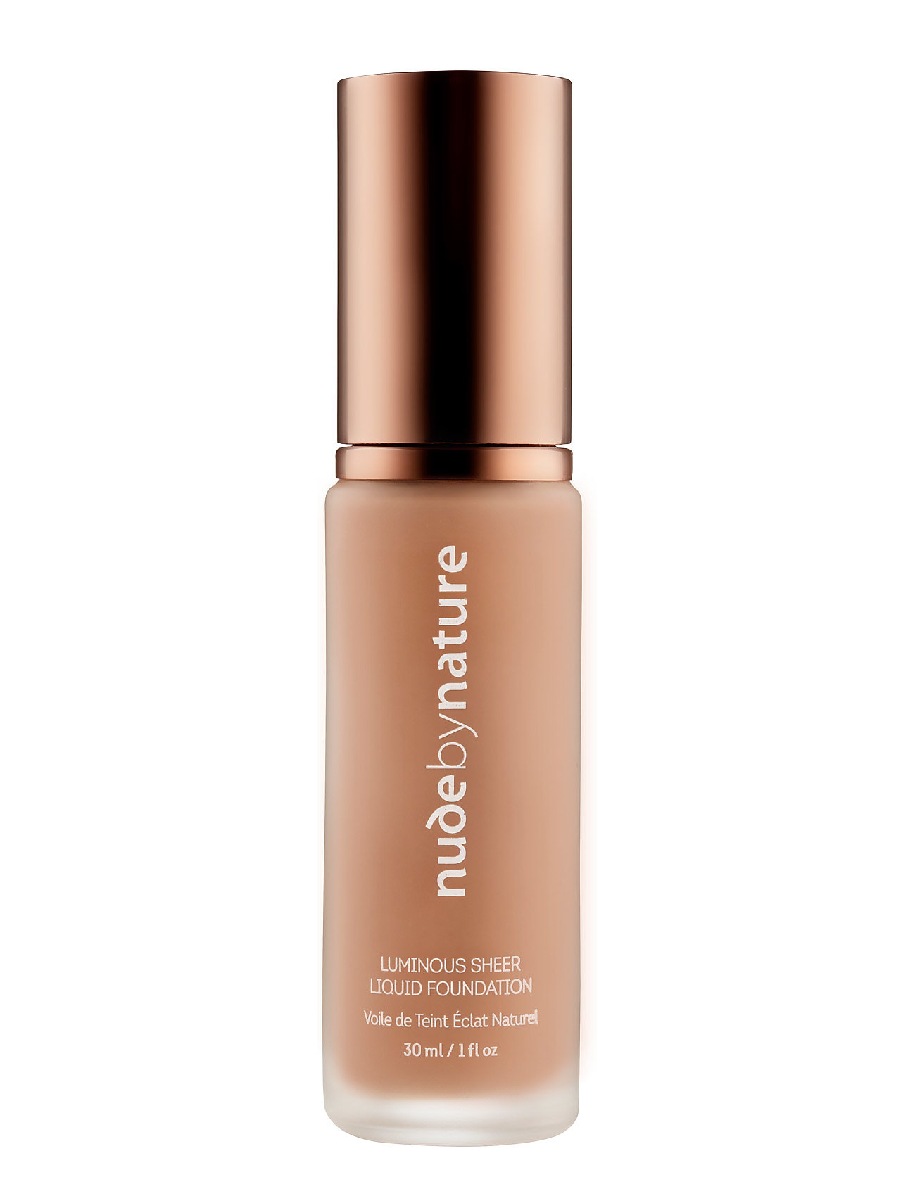 Image of Luminous Sheer Liquid Foundation N2 Warm Nude Foundation Makeup Nude By Nature (3406135509)
