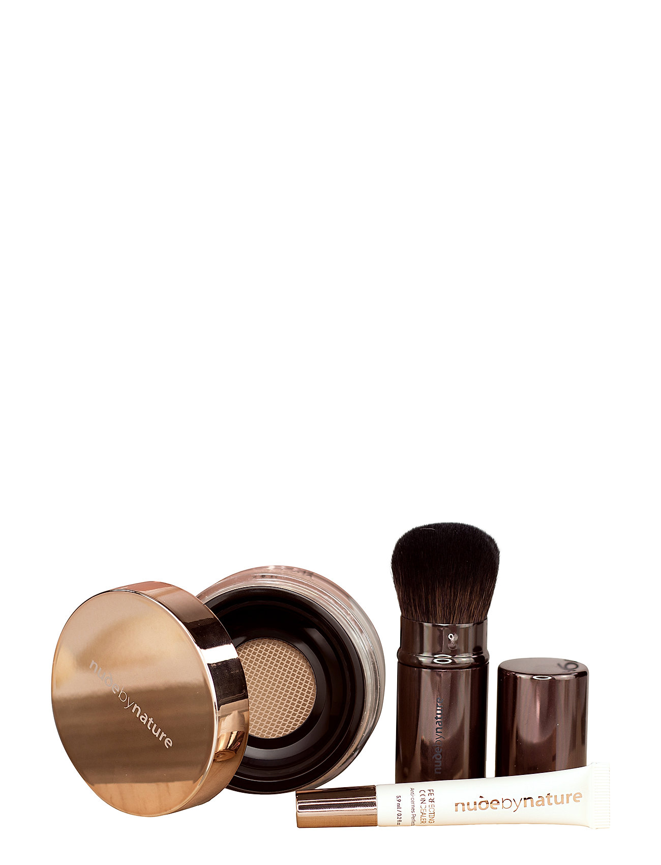 Nude by Nature KITS N4 SILKY BEIGECLASSIC COL - NO COLOR