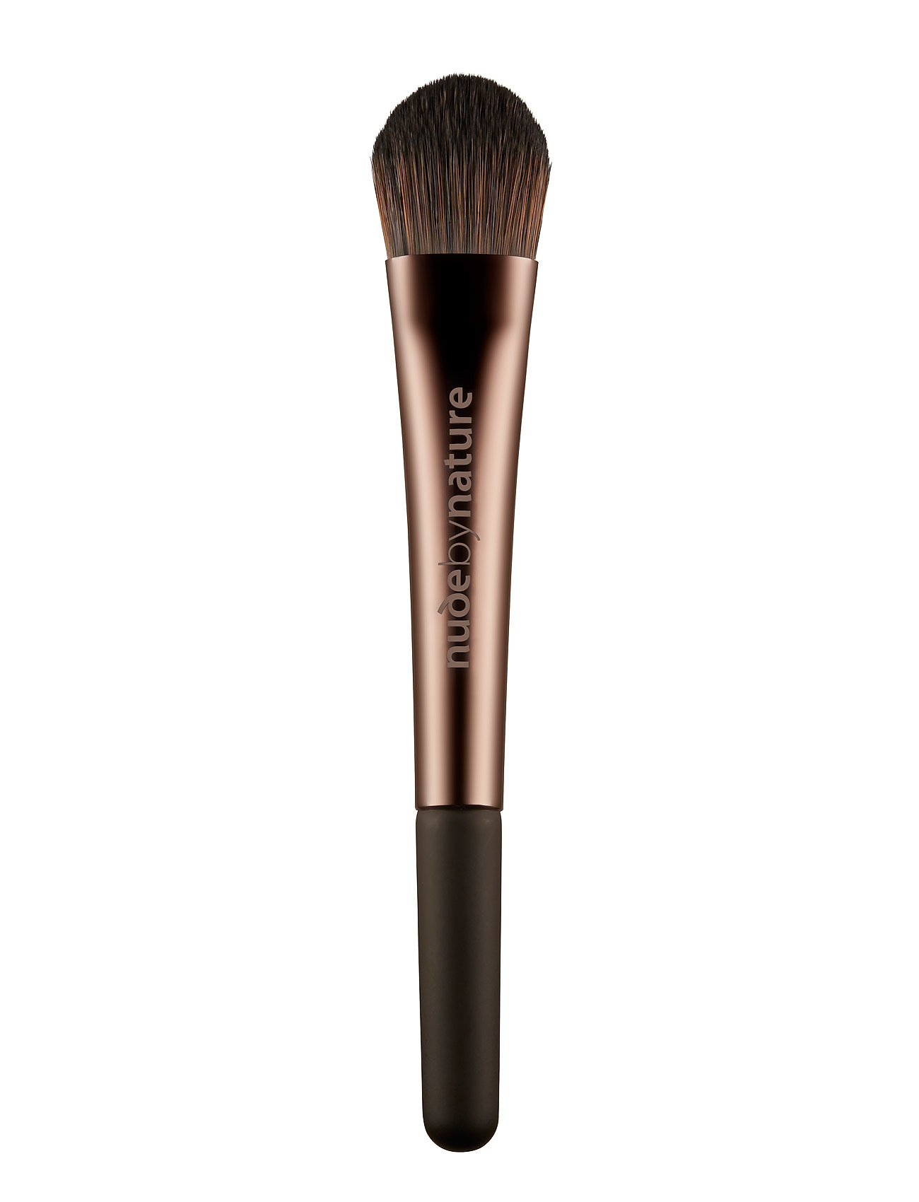 Image of Brushes 02 Liquid Foundation Brush Beauty WOMEN Makeup Makeup Brushes Face Brushes Nude Nude By Nature (2778815195)