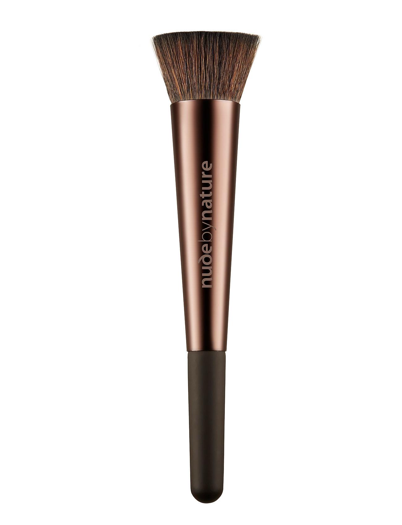Image of Brushes 08 Buffing Brush Ansigtsbørste Makeup Nude Nude By Nature (2844048221)