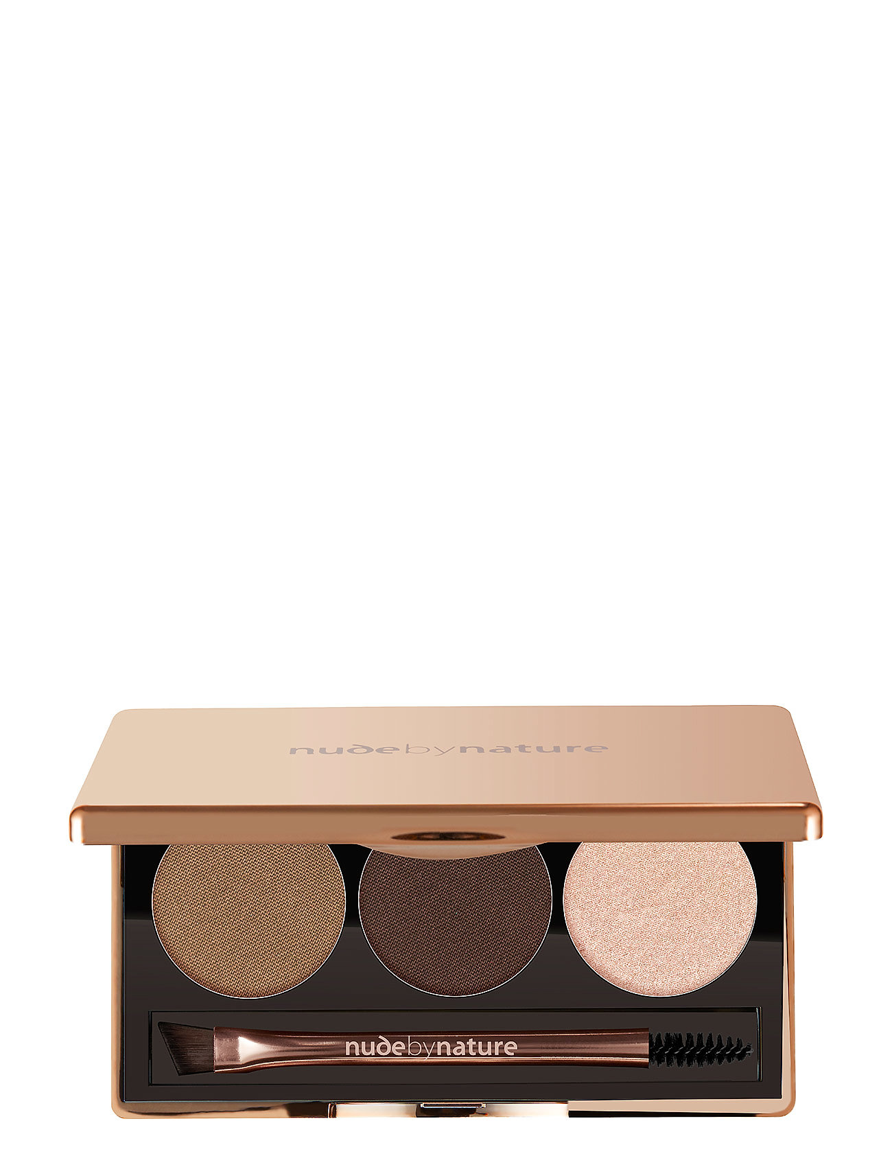Nude by Nature DEFINITION BROW PALETTE PRECISION BROW PALETTE 02 BROWN - 02 BROWN